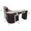 Picture of Manicure Table With Reception MT-01