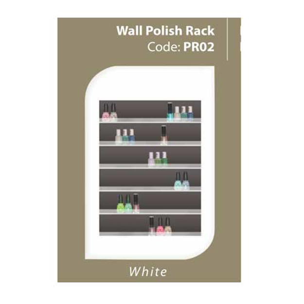 Picture of Wall Polish Rack PR02