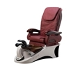 Angel pedicure spa in chocolate base & burgundy top chair