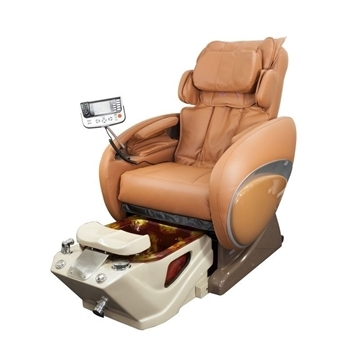 Fiori 8000 Spa Chair With 3D Full Body Massage Cappuccino