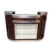 C209 Reception Counter Cherry / Aluminum