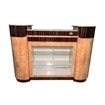 C-108 Reception Counter Cherry/Chestnut