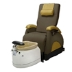 EZ Back Zero Gravity Luxury Spa Chair Truffle With Bone Base