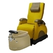 EZ Back Zero Gravity Luxury Spa Chair Butterscotch With Biscuit Base
