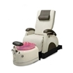 Deluxe Zero Gravity Pedicure Chair Bone And Rose Bowl
