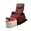 Deluxe Zero Gravity Pedicure Chair Holly Hock And Wine Bowl