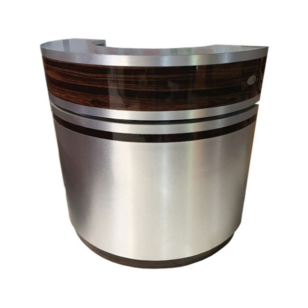 C-48 Reception Counter Aluminum Cherry