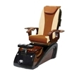 Alessi Spa Pedicure Chair Galaxy 1603 Cappuccino Sand