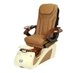 Alessi Spa Pedicure Chair Sand 1603 Cappuccino