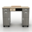 Alera Nail Table Back View
