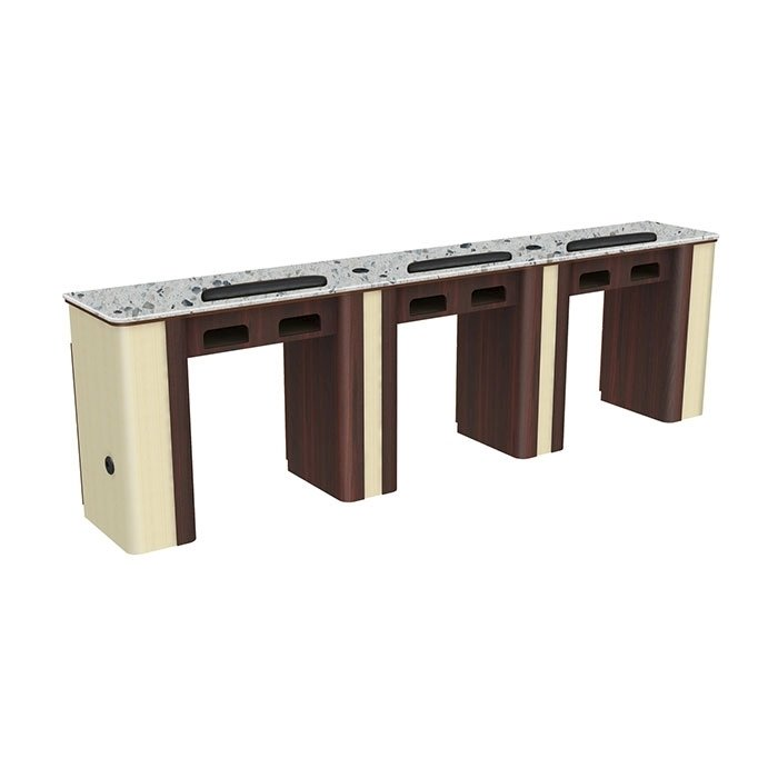 Verona Manicure Table Triple Nail Tables For Sale Us