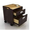 Berkeley Pedi Trolley Open Drawers