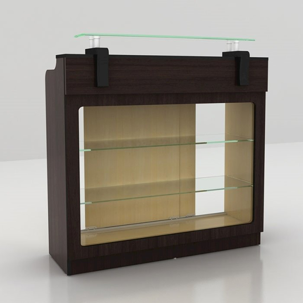 Berkeley Reception Desk With Glass Display