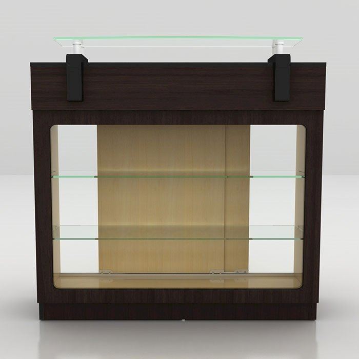 Berkeley Reception Table With Glass Display
