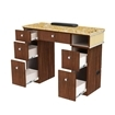 Verona II Manicure Table Back View