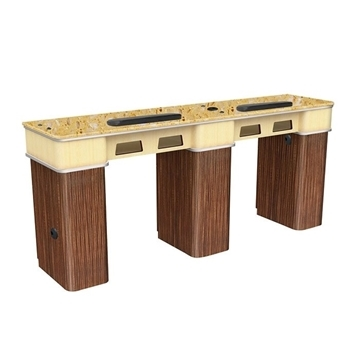 Verona II Double Manicure Table
