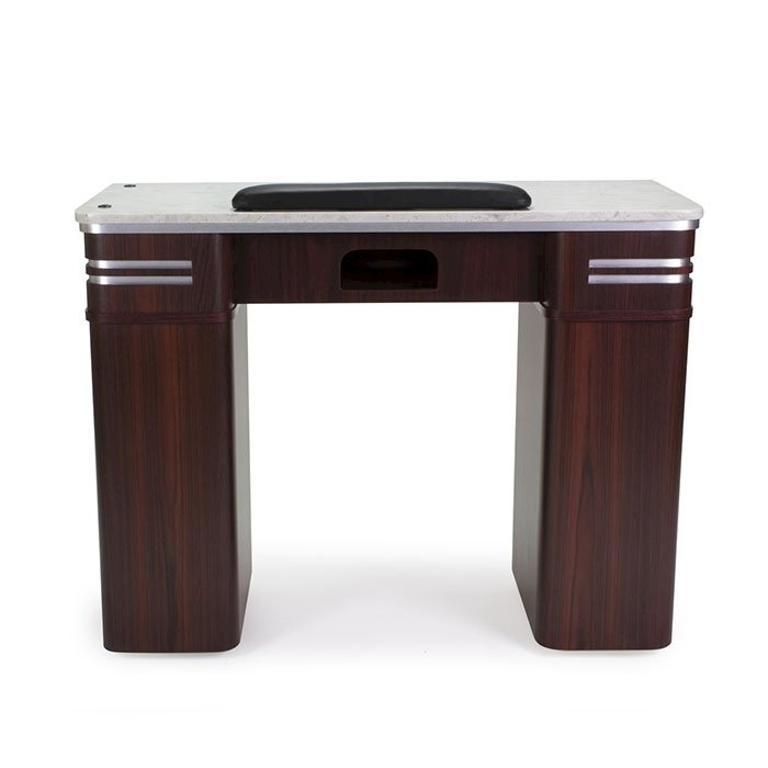 Avon Manicure Table With Vent Front View