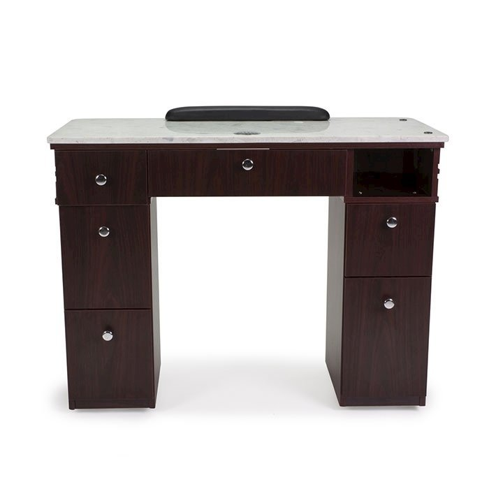 Avon Manicure Table With Vent Back View
