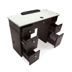 Avon Manicure Table With Vent Open Drawers