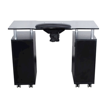 Glasglow Manicure Table Black