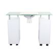 Glasglow Manicure Table White