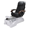 Florence EX Spa Chair Pearl White Base And Black Top