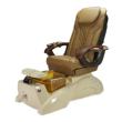Florence EX Spa Chair Coastal Sand Base And Cappuccino Top