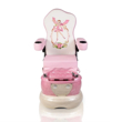 Pink Pixie Spa Pedicure Chair For Kid Front View