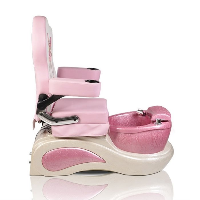 Pink Pixie Spa Pedicure Chair For Kid Side View
