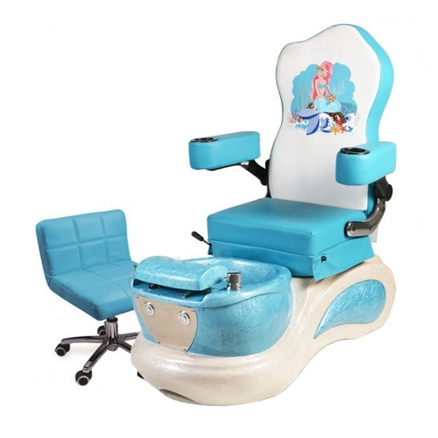 Little Mermaid Kids Pedicure Spa Chair