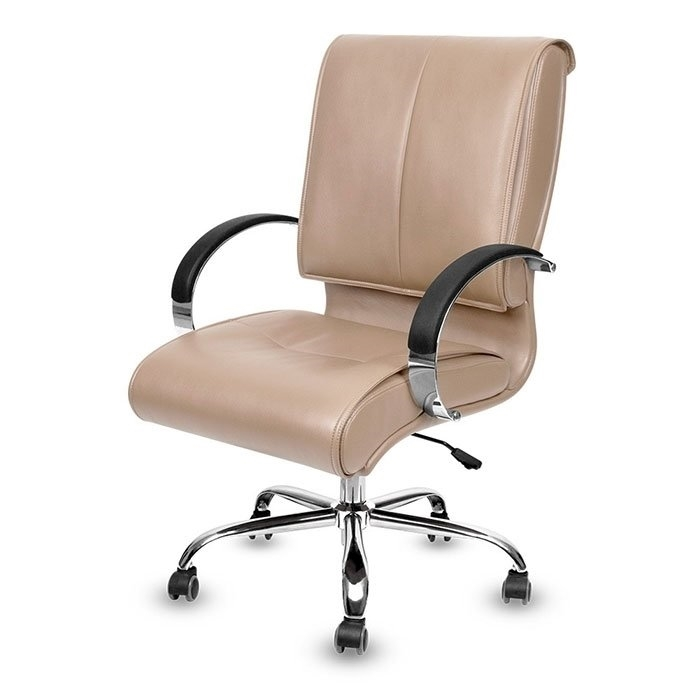 Classic Salon Guest Chair Taupe