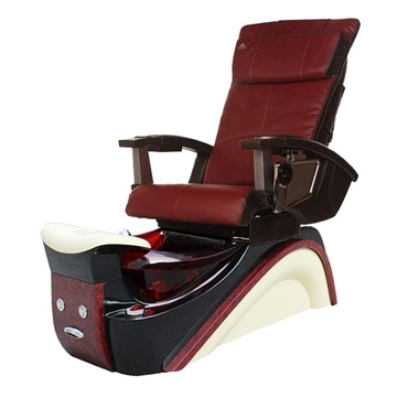 Golden Dream Spa Chair Red Human Touch Massage