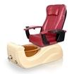 Brisa Spa Pedicure Chair Burgundy