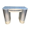 T-105 Nail Table Beige / Aluminum