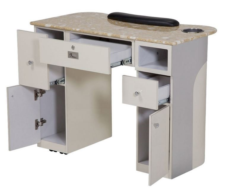 T-105 Nail Table Back View