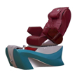 Z500 Spa Pedicure Chair Cappuccino And Blue Base