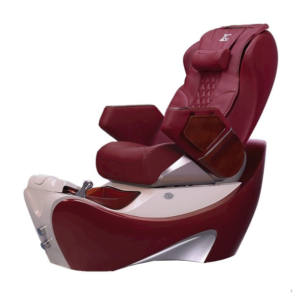 Z550 Spa Chair Dark Red Wine - Burgundy