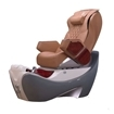 Z550 Spa Chair Gray - Burgundy