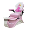 pink kid pedicure chair