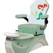 green kid pedicure chair