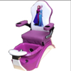 purple kid pedicure chair