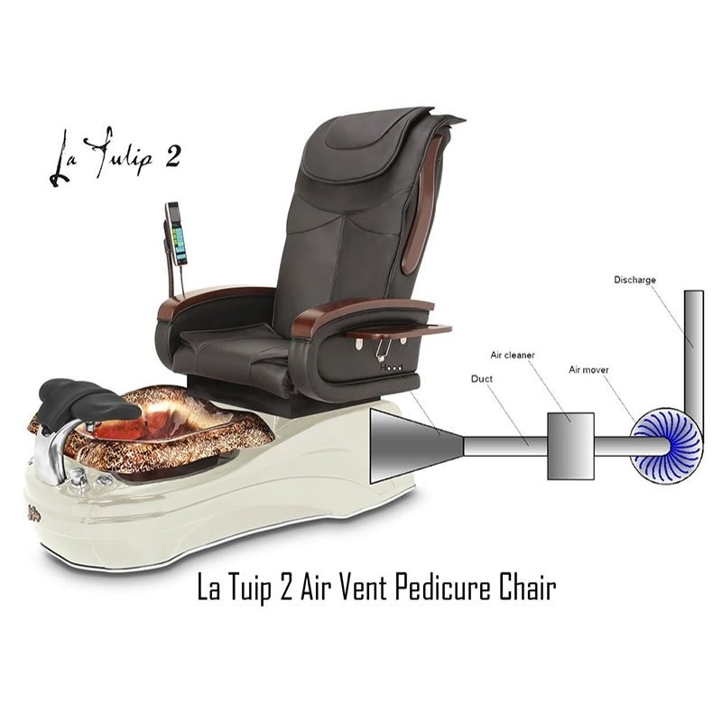 La Tulip 2 Spa Chair With Air Vent System