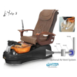 La Tulip 3 pedicure chair with air vent system
