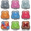La Tulip 3 pedicure bowl color options