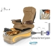 La Fleur 4 spa chair with air vent system
