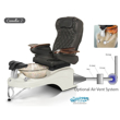 Camellia 2 spa chair with air vent system installed