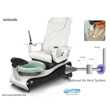 La Maravilla spa chair with air vent system installed