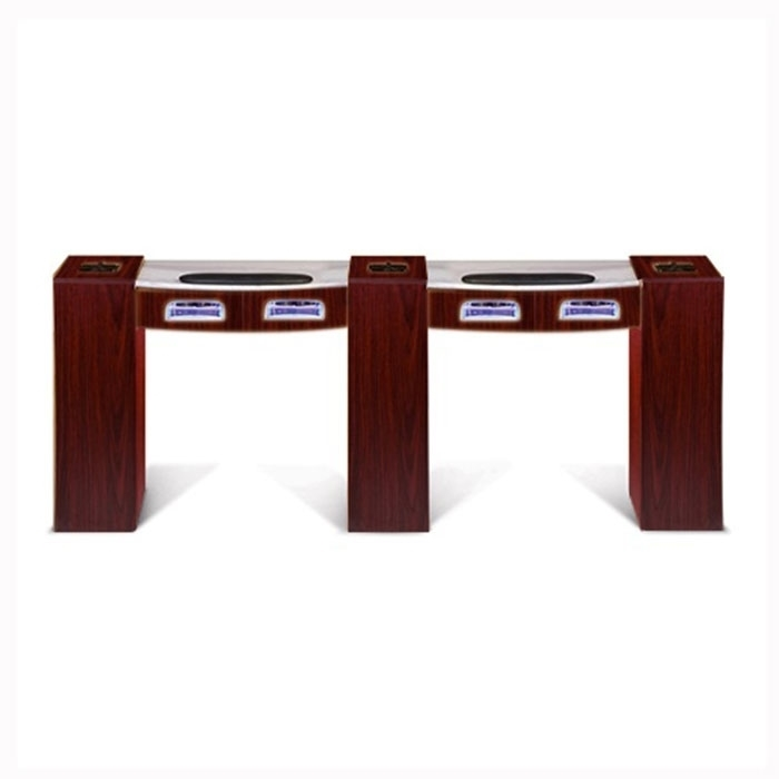 Picture of Classic Double Manicure Table with UV Gel Lights