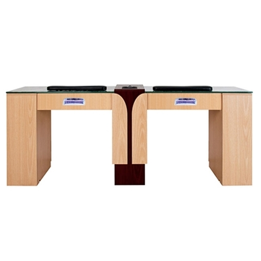 Picture of Ion Double Manicure Table with Hi-Power LED Light