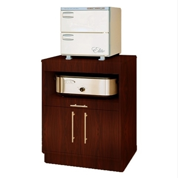 Picture of Hot Stone Heater/Towel Warmer Wooden Cabinet